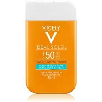 Vichy Ideal Soleil Ultra Light & Fresh SPF50 Αντηλιακή Προσώπου, 30ml