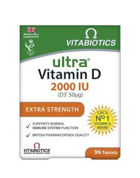 Vitabiotics Ultra D-3 2000iu 96tabs