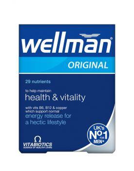 Vitabiotics Wellman 30tbs