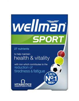 Vitabiotics Wellman Sport 30tabas