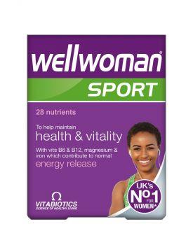 Vitabiotics Wellwoman Sport & Fitness 30tabas